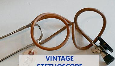 vintage antique stethoscope