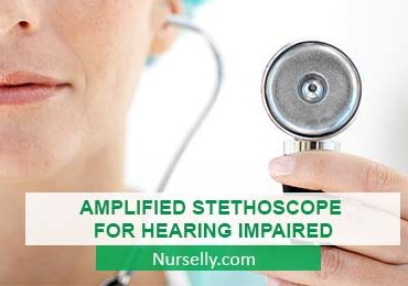 AMPLIFIED STETHOSCOPE FOR HEARING IMPAIRED