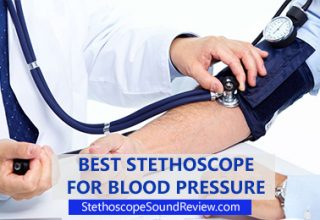 stethoscope for measuring blood pressure