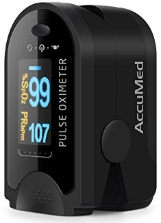 AccuMed CMS-50D Finger Pulse Oximeter