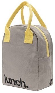 Fluf Zipper Stylish Lunch Bag for Adults