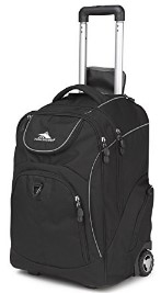 High Sierra Freewheel Wheeled Book Bag Backpack