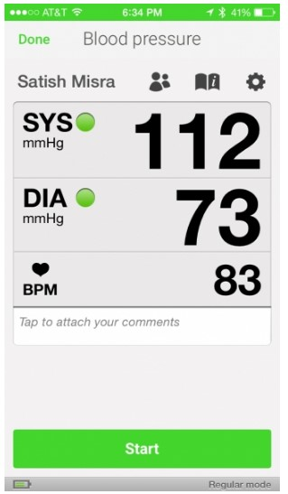 Measuring & Tracking Blood Pressure Reminders