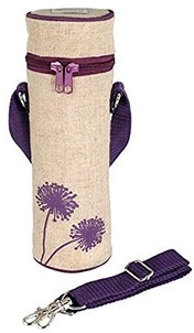 So Young Bottle Bag in Purple Dandelion