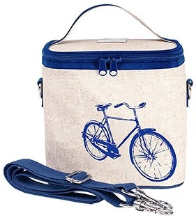 So Young Cooler Bag in Blue Bicycle