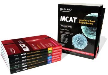 mcat complete 7 book kaplan