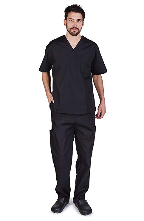 NATURAL UNIFORMS Men's Scrubs