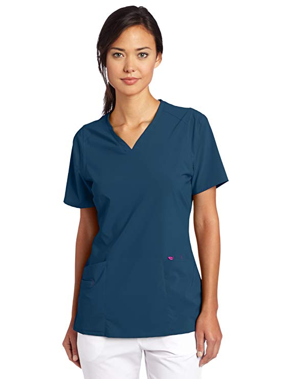 Smitten Women's Scrubs Rock Goddess