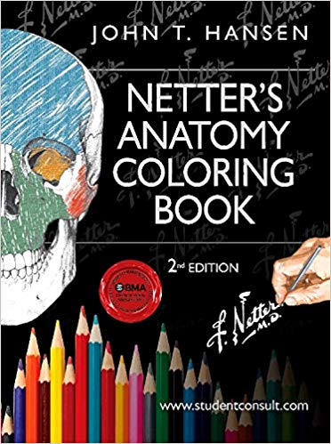 Netter's Anatomy Coloring Book - Best Anatomy Coloring Book for Medical School